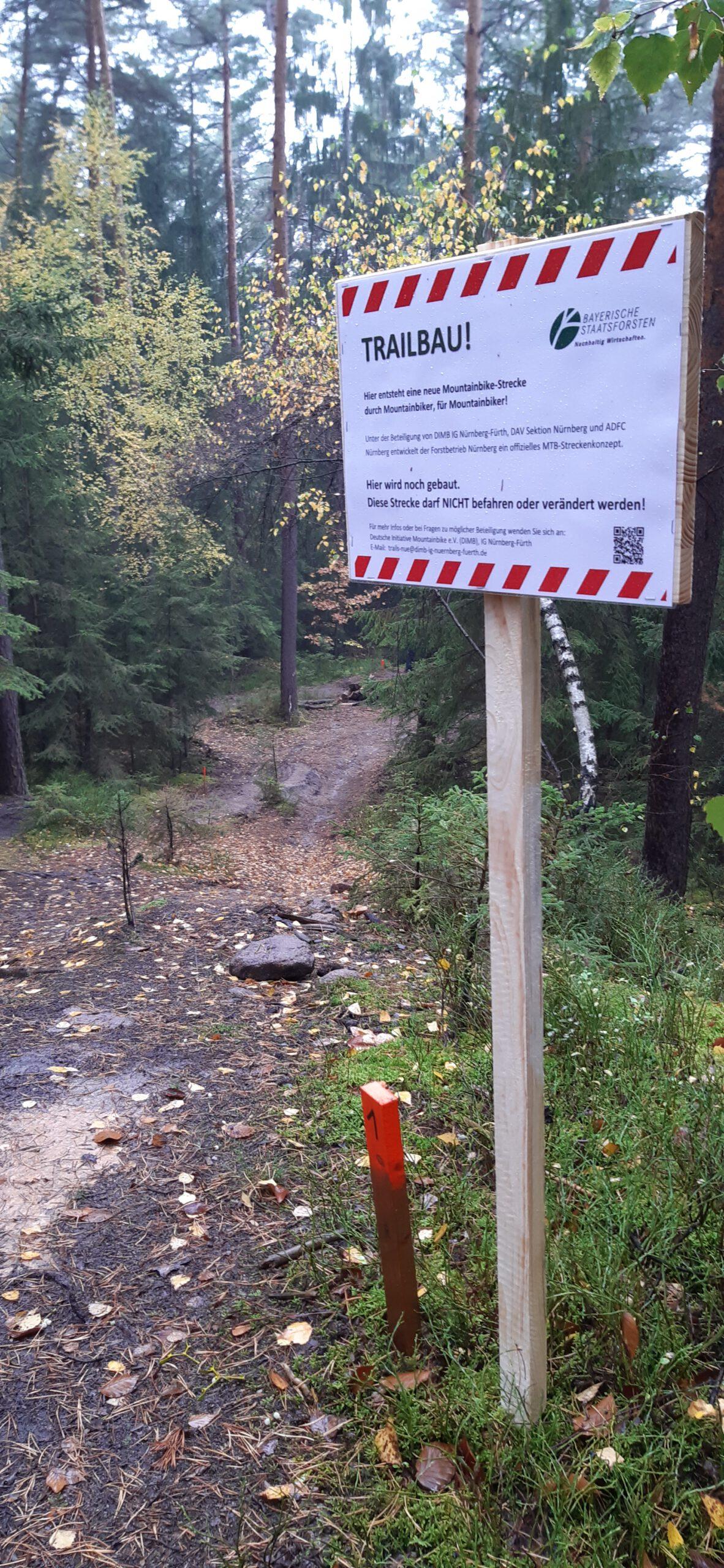 Schmausenbuck: Trailbau & COVID-19